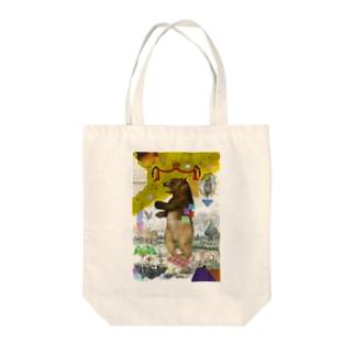 森の主(グッズ) Tote bags