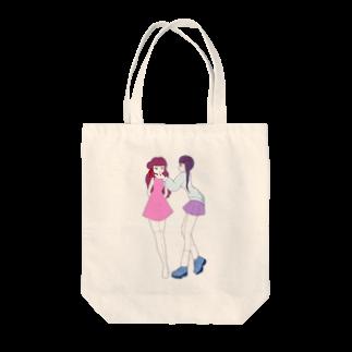 あいあいの乙女 Tote bags