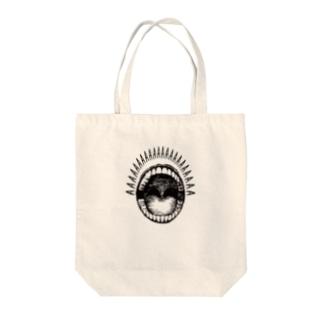 シャウトA Tote bags