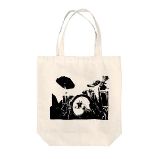 DRUMS!!#1 Tote bags