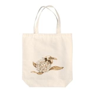 蜜蜂 Tote bags