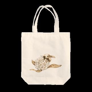 どろーいんぐ屋の蜜蜂 Tote bags