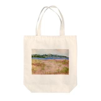 湖 Tote bags