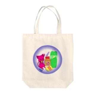 盗み食い トート Tote bags