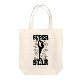 スーパースター Tote bags