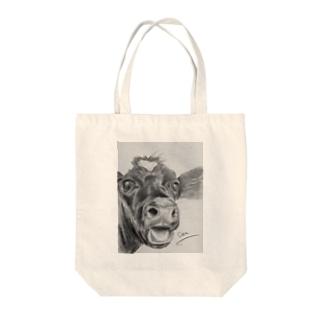 🐮ウシ Tote bags