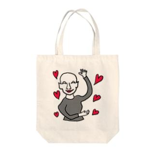 肉欲様・・ハート Tote bags