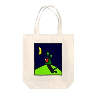うさぎインコ Tote bags
