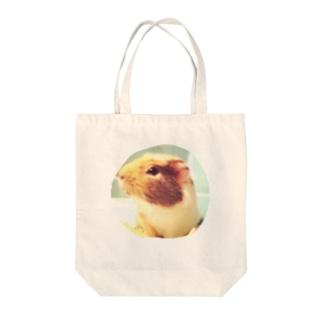 もちたさんの横顔 Tote bags
