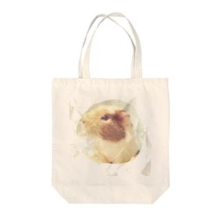 モルモット Tote bags