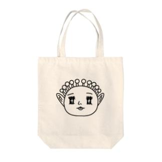うちゅうじんくん Tote bags