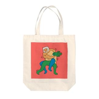 コブラツイスト〜 Tote bags
