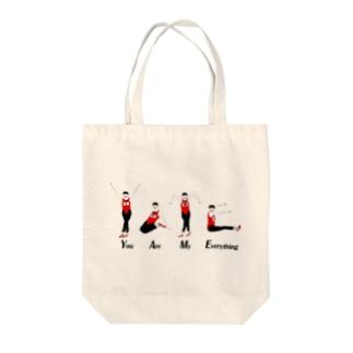 オジサンシリーズ Tote bags