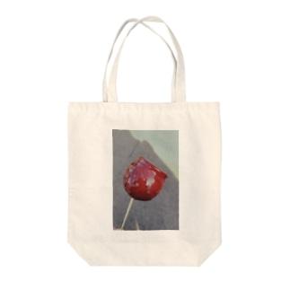 りんご飴 Tote bags