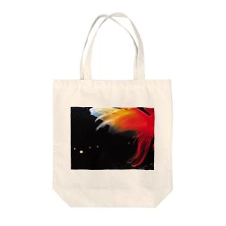 金魚季 シリーズ  Tote bags