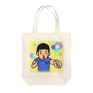 男の子のトート Tote bags