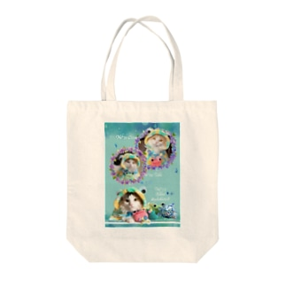 げこげこさん会員No*69/70/117 Tote bags