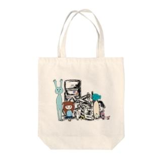 ごみ溜めの住人たち Tote bags