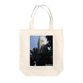 タイの時計台 Tote bags