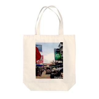 タイのカオサンロード Tote bags