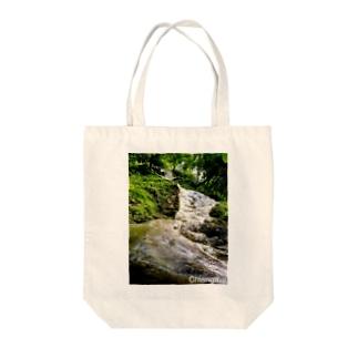タイの滝 Tote bags