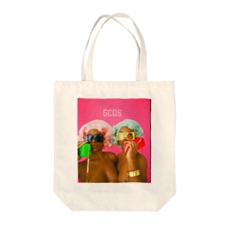 fav twins3 Tote bags