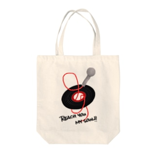 Reach you my soul Tote bags