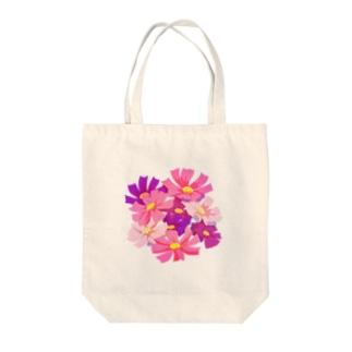 つちのこの秋桜 Tote bags