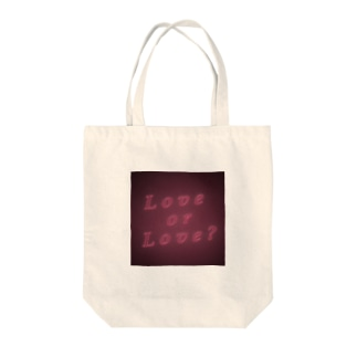 Love or Love? Tote bags