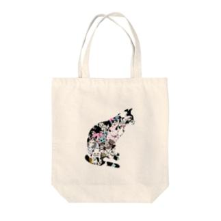 ゆるりんマルシェ 猫-1 Tote bags