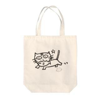 ましねこ!|お魚 de ゴキゲン☆(ブランク) Tote bags