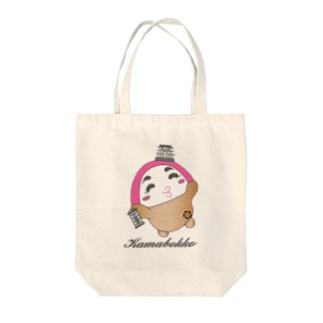 かまぼっ娘 Tote bags