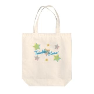 Twinkle Stars Tote bags