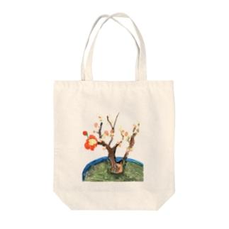 じっちゃの絵(木瓜) Tote bags