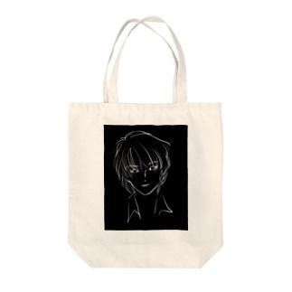 モノクローム Tote bags