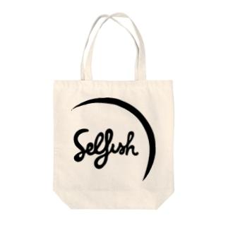 Selfish Tote bags