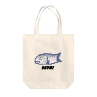ウルメイワシ Tote bags