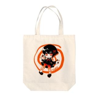 とりいちゃん Tote bags
