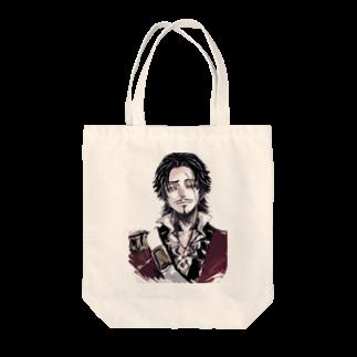papaparaのホセさん Tote bags