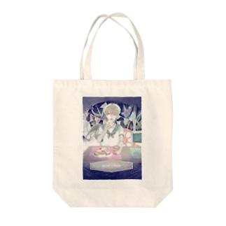 sailor boy Tote bags