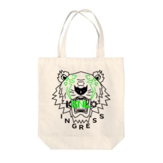 KENLO TIGER Tote bags
