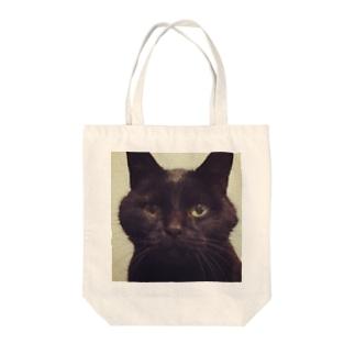 丸顔 林檎 Tote bags