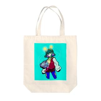 お祭りの魔法使い Tote bags