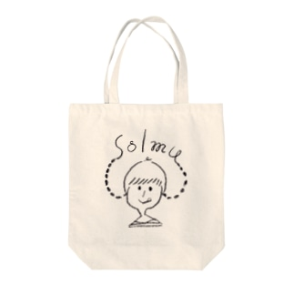 solmuちゃん Tote bags