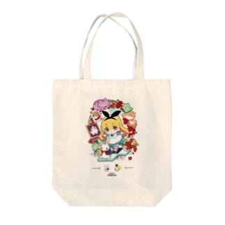 『不思議の国のアリス』トートバッグ Tote bags