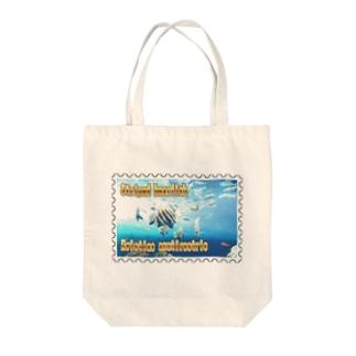テングダイ★白地の製品だけご利用ください!! Striped boarfish★Recommend for white base products only !!  Tote bags