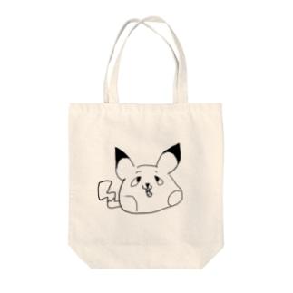 ぴかぴーか Tote bags