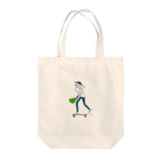 コンプラくん Tote bags