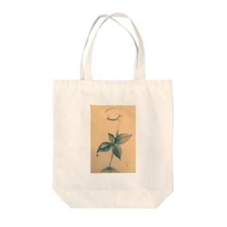 涙芽 Tote bags