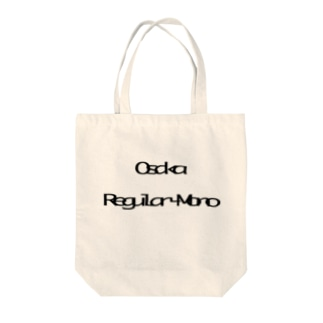 Osaka Regular-Mono Tote bags